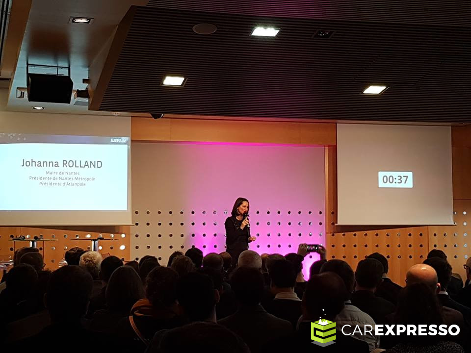 Pitch de Johanna Rolland au forum Atlanpole 2019